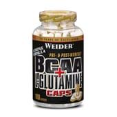 BCAA + GLUTAMINE CAPS 180 Caps - WEIDER
