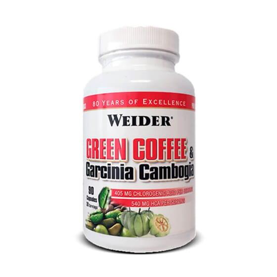 GREEN COFFEE & GARCINIA CAMBOGIA 90 Gélules - WEIDER