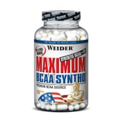 MAXIMUM BCAA SYNTHO 120 Caps - WEIDER