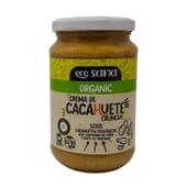 Crema De Cacahuete Crunchy Orgánica 350g de Ecosana