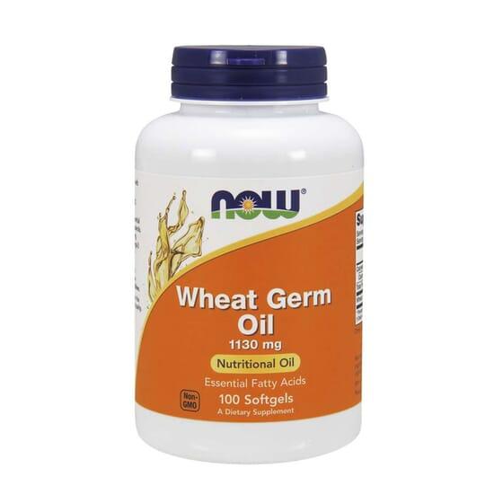 Wheat Germ Oil 1130 mg 100 Softgels de Now Foods