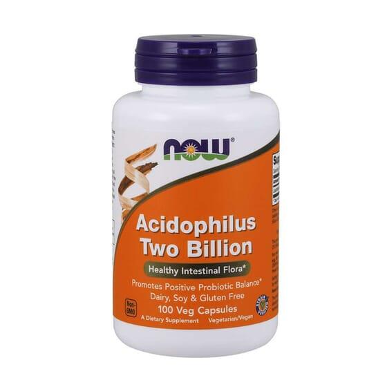Acidophilus Two Billion 100 VCaps da Now Foods