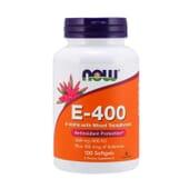 Natural E-400 100 Softgels de Now Foods