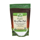 Real Food Organic Erythritol 454g de Now Foods