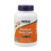 Psyllium Husk 500 mg 200 VCaps de Now Foods