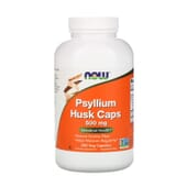 Psyllium Husk 500 mg 500 VCaps de Now Foods