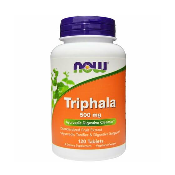 Triphala 500 mg 120 Tabs de Now Foods