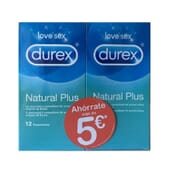 Duo Durex Natural Plus 2 Unités de Durex