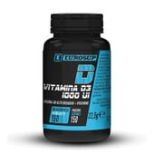 Vitamina D3 1000 ui 150 Caps de Eurosup