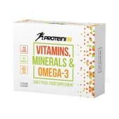 Vitamins, Minerals E Ómega 3 30 Caps da Proteini si