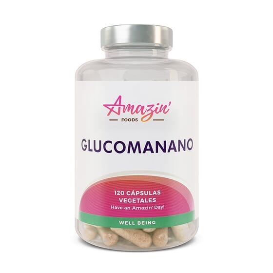 Glucomanano 120 VCaps da Amazin' Foods
