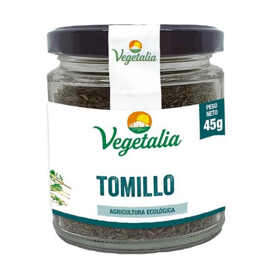 Tomilho Biológico 45g da Vegetalia