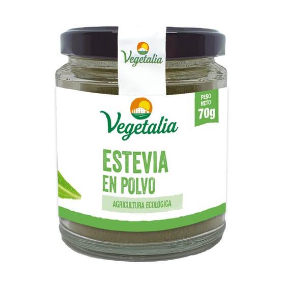 Stevia Em Pó Biológica 70g da Vegetalia