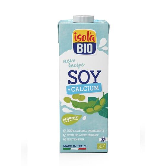 Bebida De Soja Con Calcio Organico 1000 ml de Isola Bio