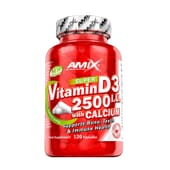 Super Vitamin D3 2500 IU With Calcium 120 Caps da Amix Nutrition