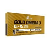 Gold Omega 3 D3 + K2 Sport Edition 60 Caps da Olimp