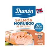 Salmón Noruego Al Natural 160g de Dumon
