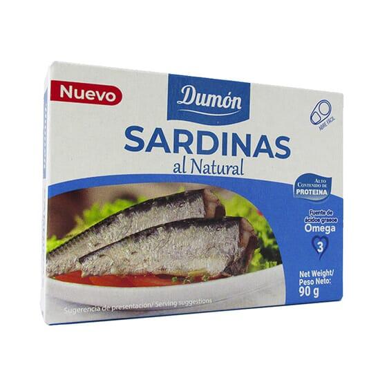 Sardinhas ao Natural 90g da Dumon