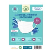 Mascarilla Higiénica Reutilizable  de Sol Natural