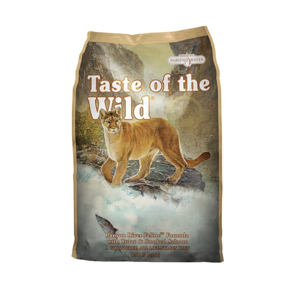 Ração Gato Adulto Canyon River Truta 6.6 Kg da Taste Of The Wild