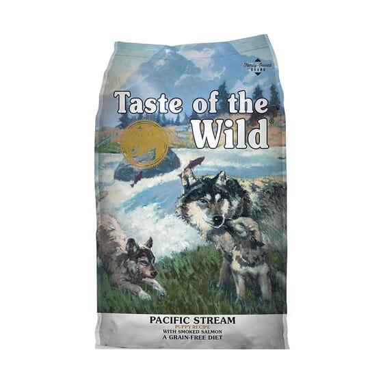 Ração Cachorros Puppy Pacific Stream Salmão 5.6 Kg da Taste Of The Wild