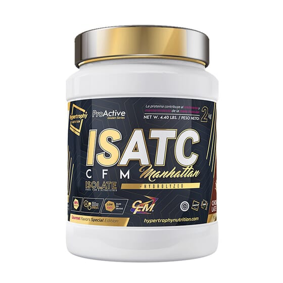 Isatc Isolate CFM Manhattan 2 Kg da Hypertrophy Nutrition