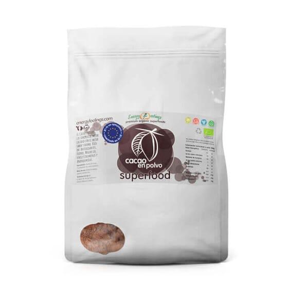 Cacao En Polvo Eco 1 Kg de Energy Feeling