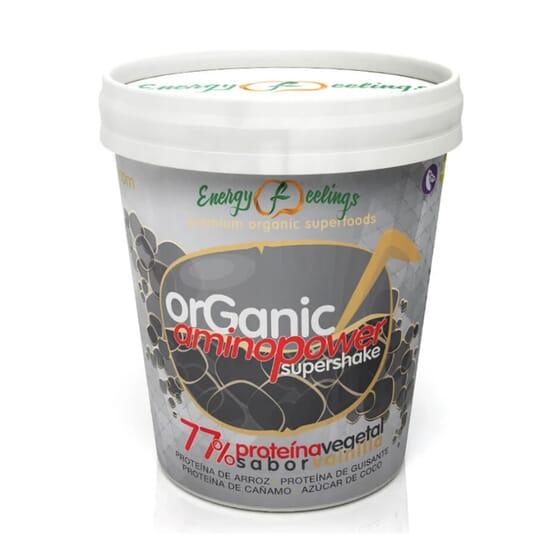 Supershake Organic Aminopower Baunilha 250g da Energy Feeling