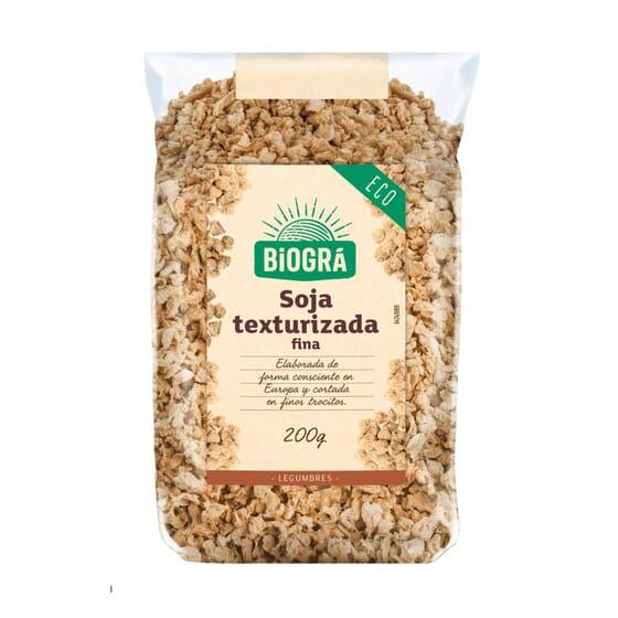 Soja Texturé Fin Bio 200g de Biogra