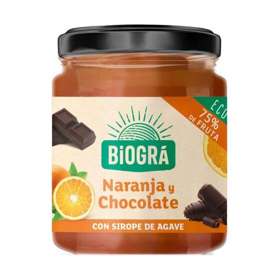Marmelada Laranja e Chocolate Bio 200g da Biogra