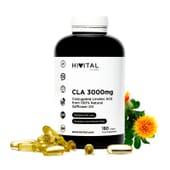 CLA 3000 mg 180 Pérolas da Hivital Foods