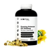 Evening Primrose Oil 1000 mg 200 Pérolas da Hivital Foods