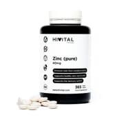 Zinc 40 mg 365 Tabs da Hivital Foods