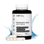 Ácido Hialurónico 400 mg 120 VCaps de Hivital Foods