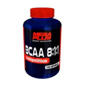 Bcaa 8:1:1 Competition 150 Caps de MEGA PLUS