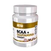 Bcaa+Glutamine Concept 500g de MEGA PLUS