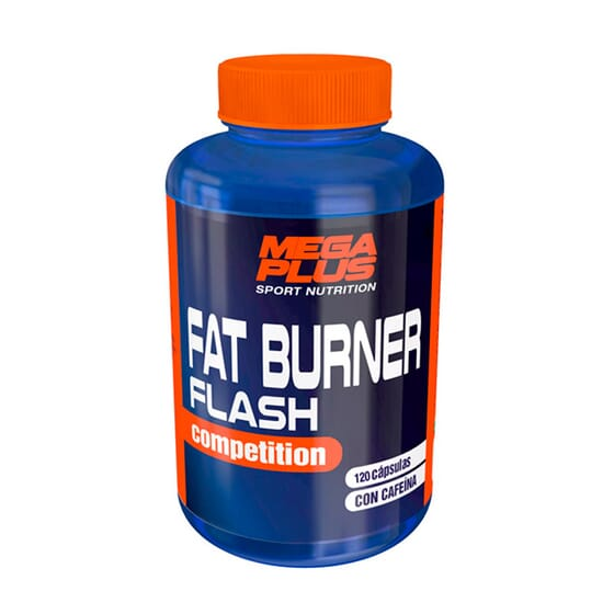 Fat Burner Flash Competition 120 Caps da Mega Plus