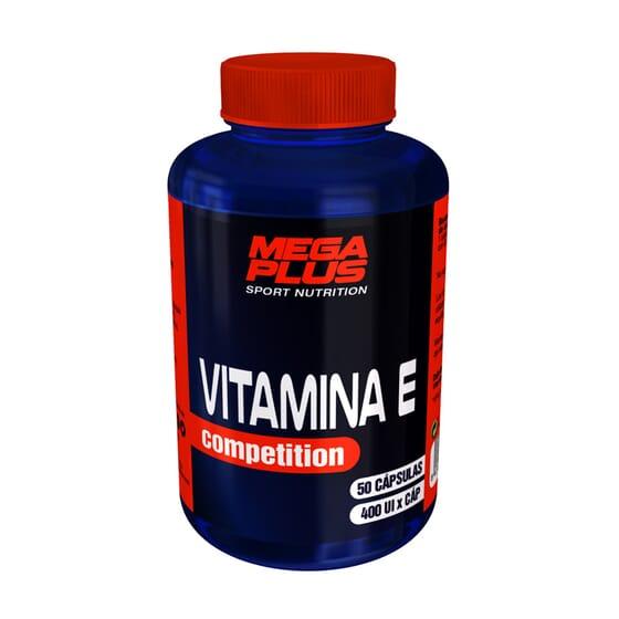 Vitamina E Competition 50 Caps da Mega Plus