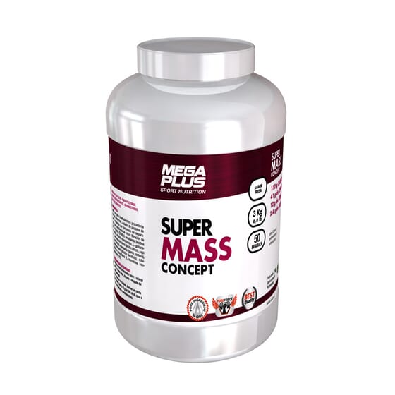Super Mass Concept 3 Kg de MEGA PLUS