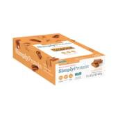 Barra Mel de Maple com Noz Pecan 40g 12 Unds da Simply Protein