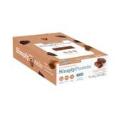 Barrita Chocolate Con Caramelo 40g 12 Uds de Simply Protein