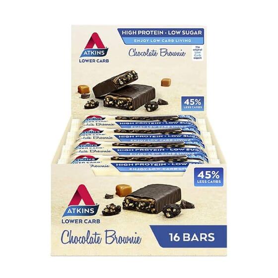 Bar Lower Carb 45% 16 x 60g da Atkins