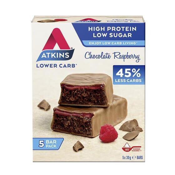 Bar Lower Carb 45% 5 x 30g de Atkins