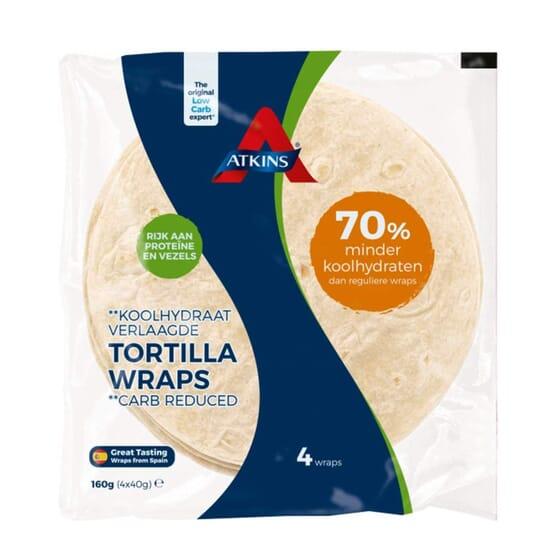Tortilha Wraps 160g da Atkins