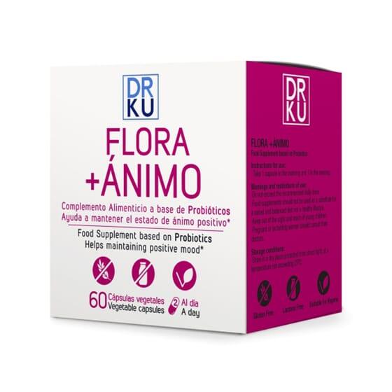 Flora + Ánimo 60 VCaps de DRKU