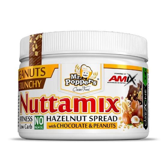 Nuttamix Crunchy Peanuts 250g da Amix Nutrition