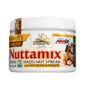 Nuttamix Crunchy Peanuts 250g de Amix Nutrition