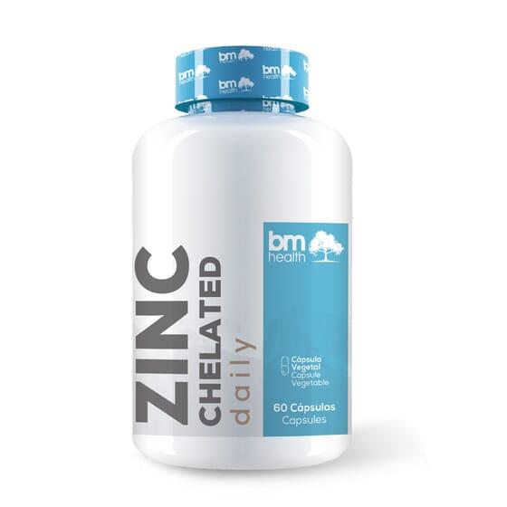 Zinc Chelated 60 VCaps de BM Health