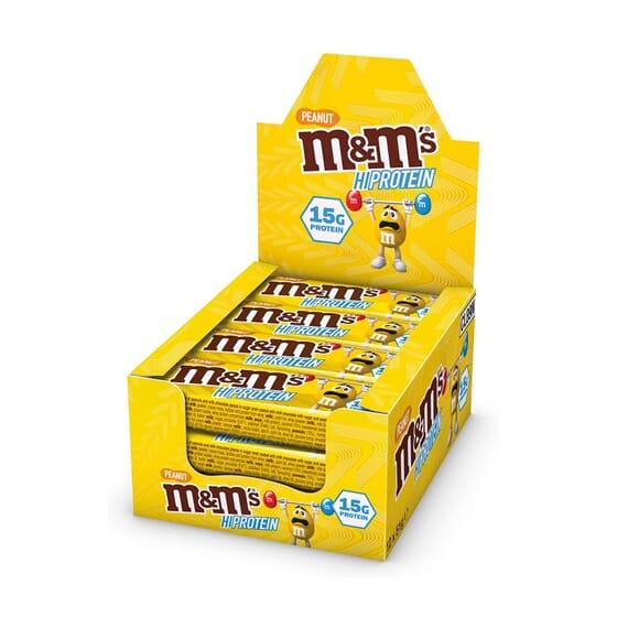 M&M's Hiprotein Peanut Bar 51g 12 Barras da M&M's