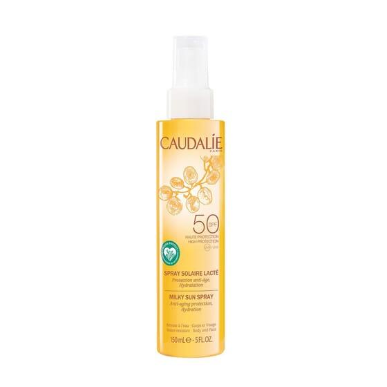 Spray Solar Lácteo SPF50 75 ml da Caudalie